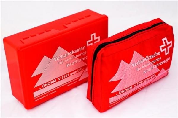 KFZ Verbandkoffer oder KFZ Verbandtasche